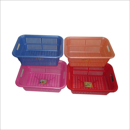 Multipurpose Plastic Storage Baskets