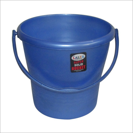 Plastic Blue Bucket