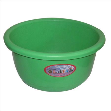 Plastic Green Tub