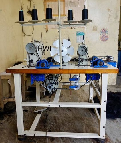 Three Head Hair Wefting Machine