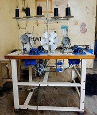 Three Head Hair Wefting Machine