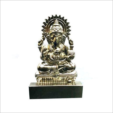 Ganesha Silver Showpiece