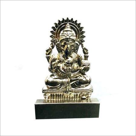 Ganesha Silver Showpiece
