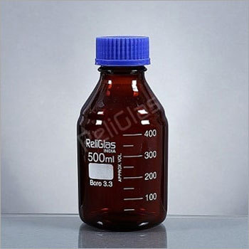 02.223 Reagent Bottle, AMBER, with Screw Cap