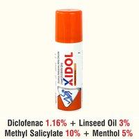 Linseed Oil + Diclofenac  + Menthol + Methyl Salicylate + Capasacin