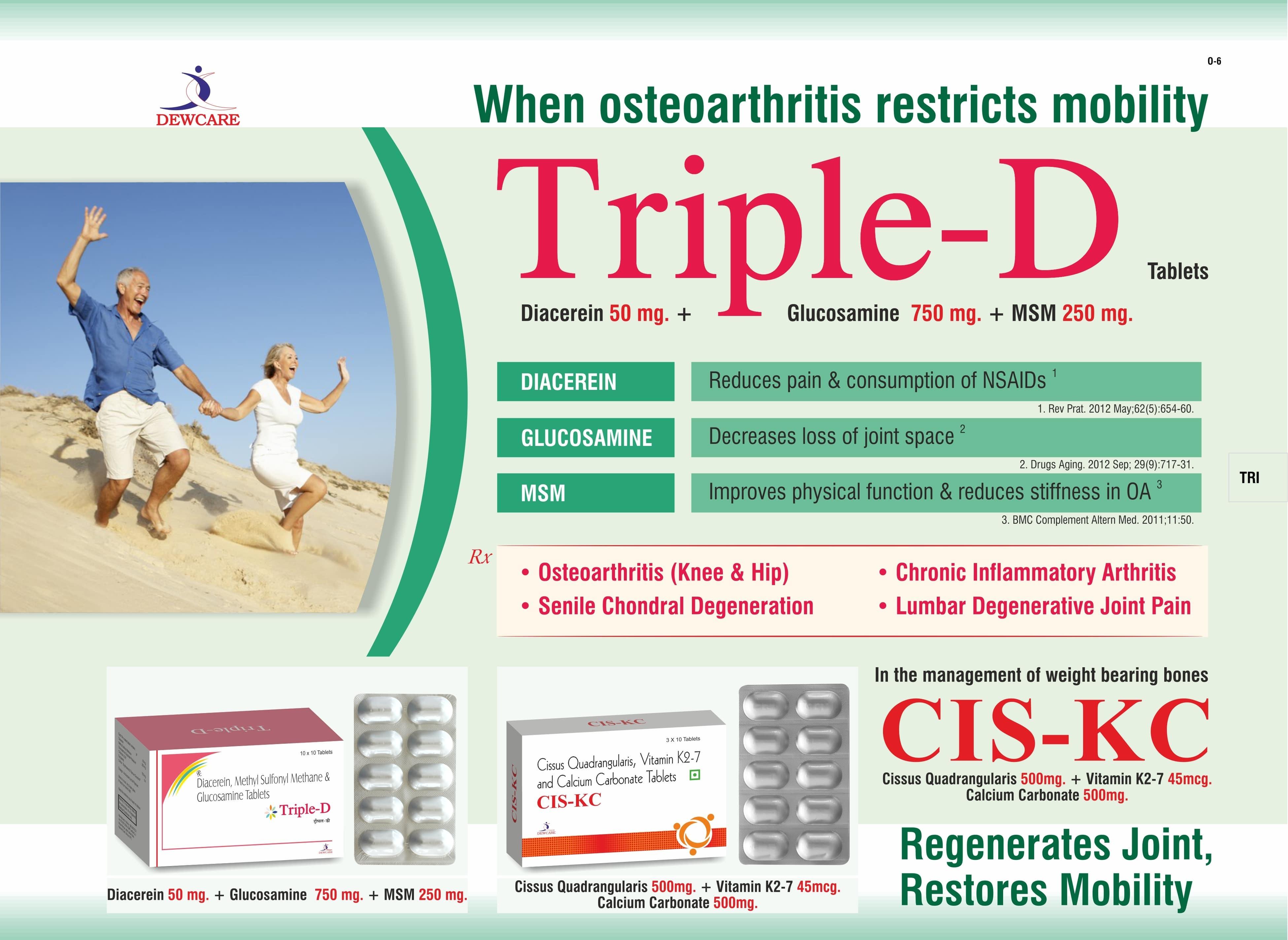 Triple- D Tablets