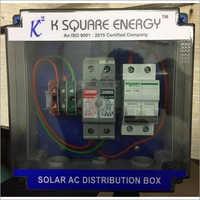 1-6 KW Single Phase Solar ACDB