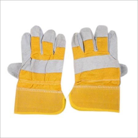Hand Gloves Leather Cavnvas