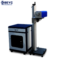 Fly Metal Tube Laser Marking Machine