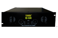 HD 5500 with Crossover Professional Power Amplifier