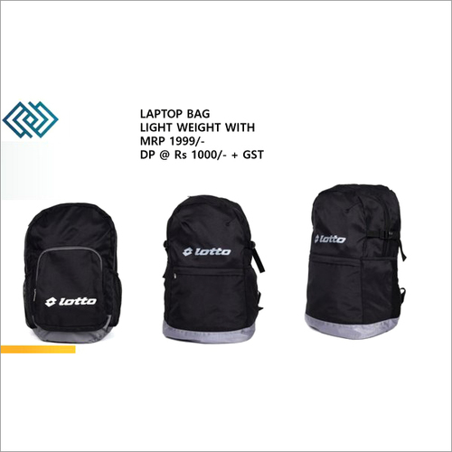 Lotto Black Travel Bag