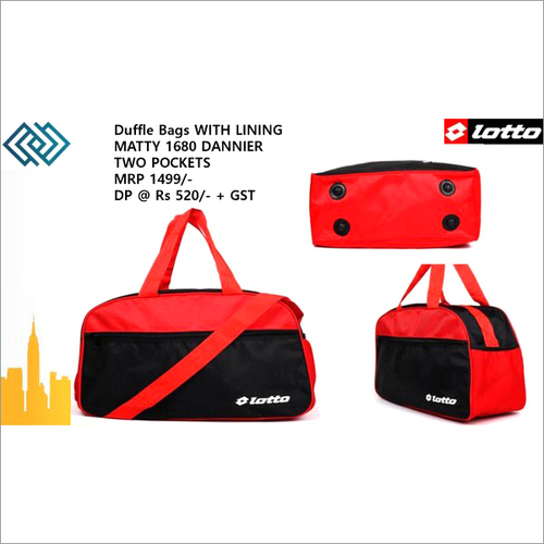 Lotto Duffle Bag Pocket