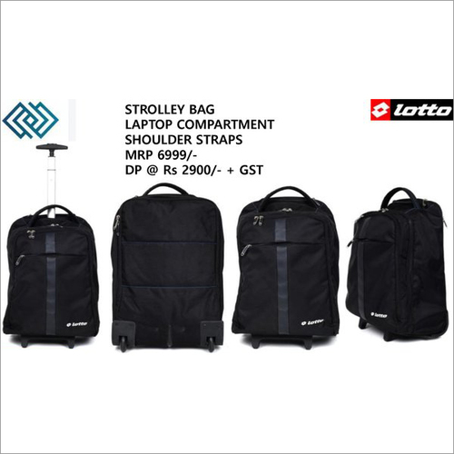 Strolly Bag Laptop Compartment Shoulder Straps MRP 6999