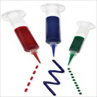 Adhesive Syringe Barrel