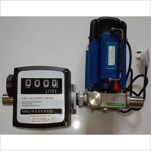 Explosion Proof Steel Pump Flow Meter Unit