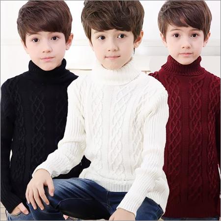 Boys Turtleneck Sweater