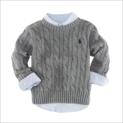 Kids Round Neck Sweaters