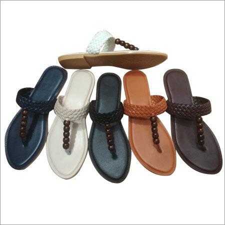 Ladies beaded sandals
