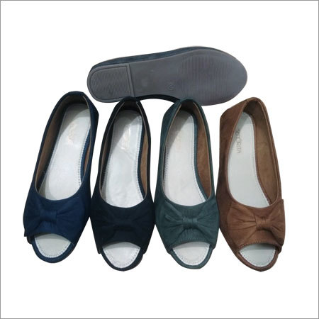 Ladies Bow Belly Shoes