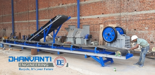 Aluminum Scrap Shorting Conveyor System
