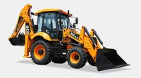 AX 124 - 4 WD Backhoe Loader