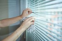 Strip Blinds Cleaning