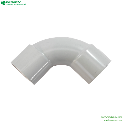Conduit 25mm Solid Elbow Pvc Solid Elbow 90 Angle