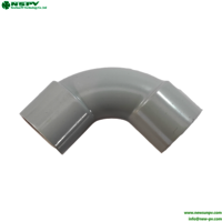 Conduit 25mm solid elbow