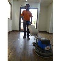 Floor scrubbing & Buffing