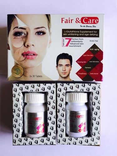 L-Glutathione with Vitamin-C Tablet KIT for Skin Whitening