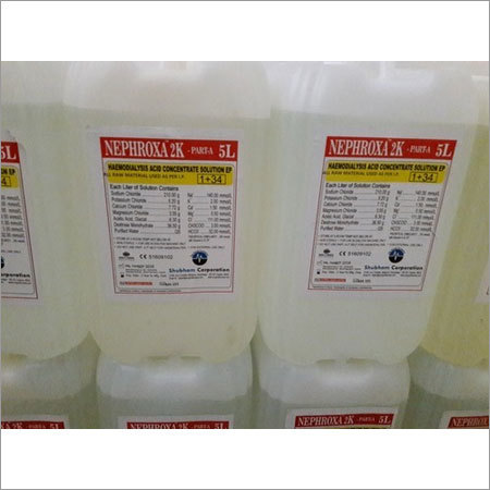 5 Ltr Nephroxa Haemodialysis Concentrate A
