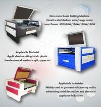 Nonmetal Co2 laser cutting machine