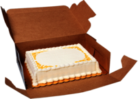 Cake Corrugated Box