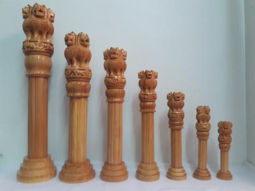 Wooden Ashokpiller