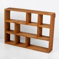 Hanging Wood Shelf 3 Layers