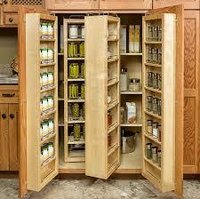 Wood Storage Cabinets With Doors