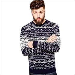 Men Knitted Sweatshirt