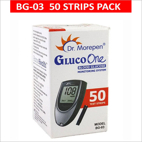 Dr. Morepen BG 03 Test Strips
