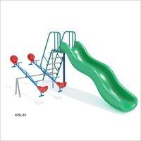Single Wave Baby Slide
