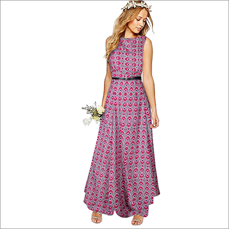 Ladies Pepe Morpichh Pink Gown