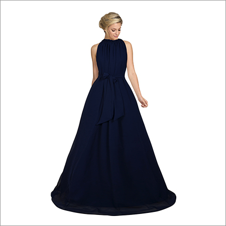 Ladies Dyna Blue Gown