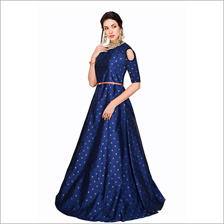 Ladies Sofiya Blue Gown