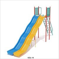 Double Wide Playground Slide
