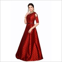 Ladies Sofiya Red Gown