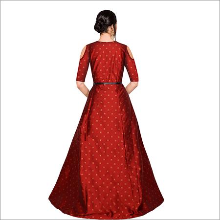 Ladies Sofiya Red Gown