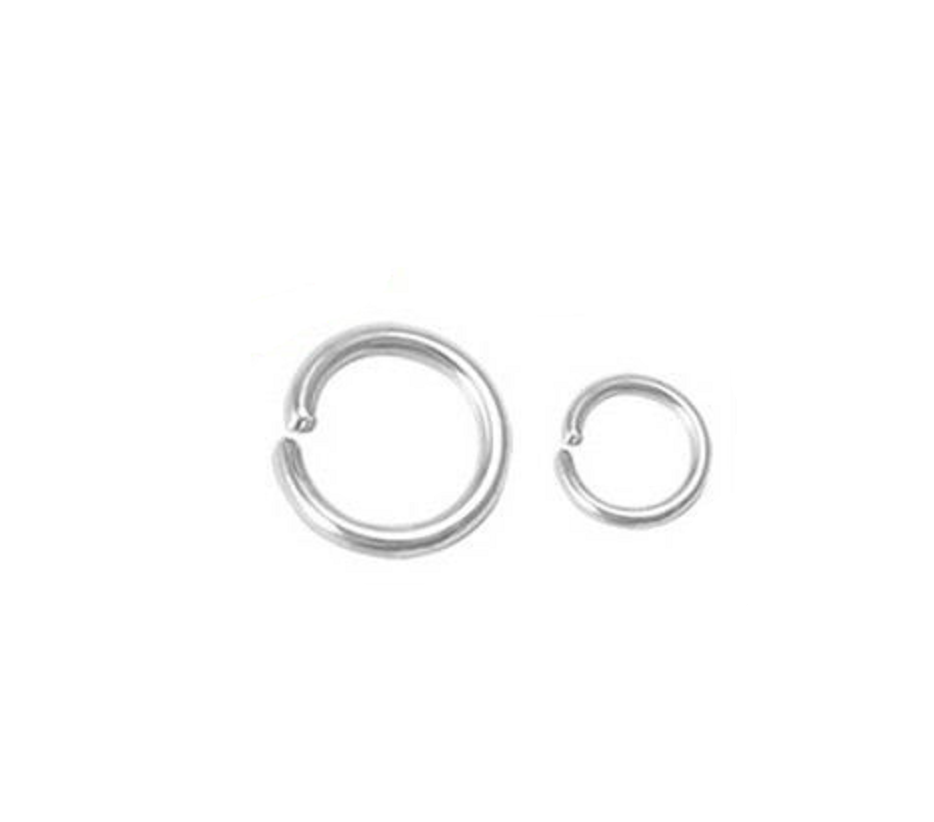 Gold Plated Open Jump Rings - Jewelry Findings