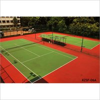 Tennis Court Surface Flooring