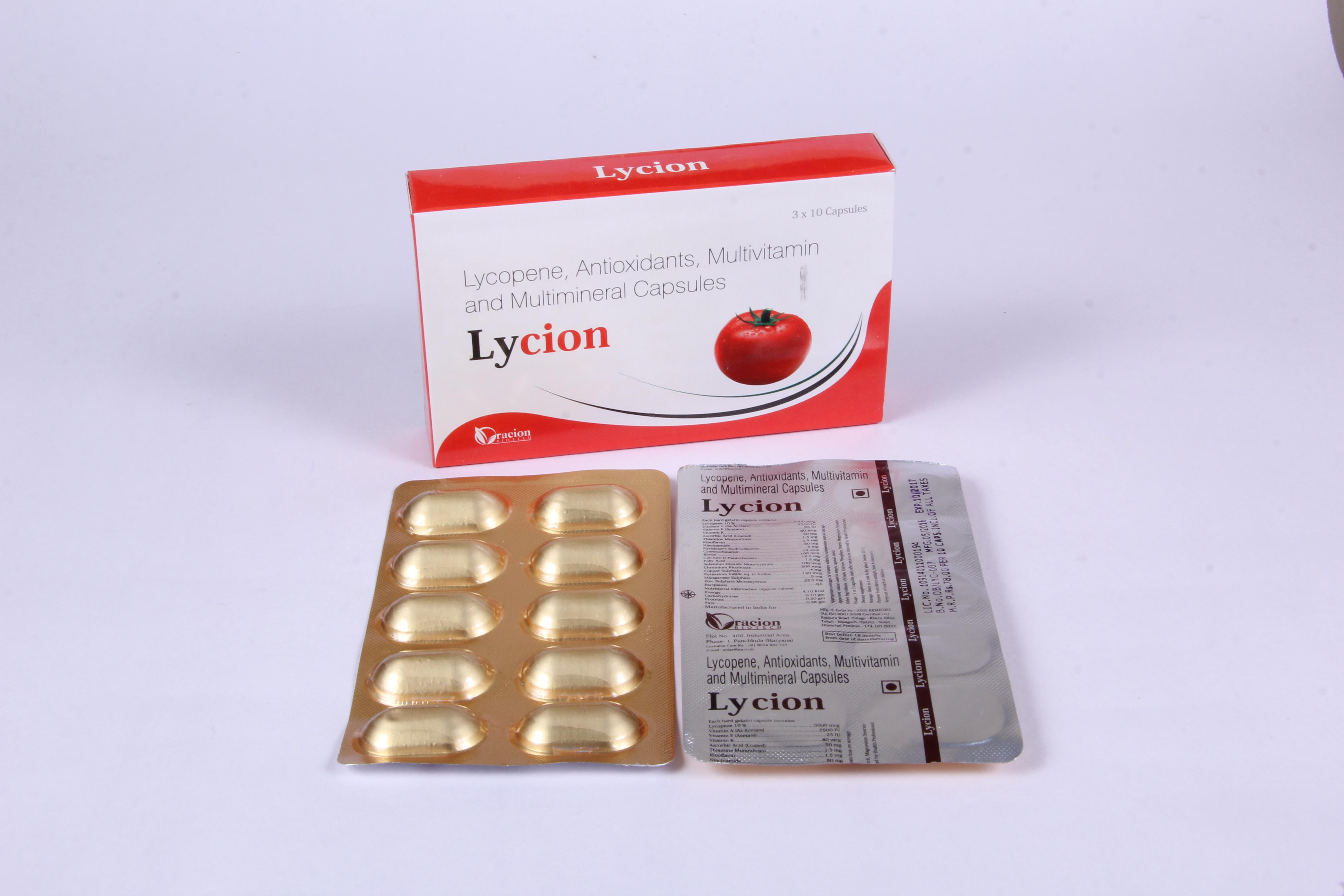 LYCION CAPS