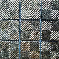 3D Metallic Mosaic Bronze Tiles