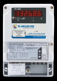 1 Phase Postpaid Energy Meter With Rs 485 ( Whole Current Operated)